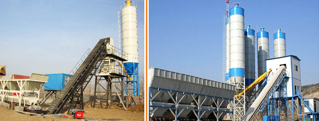 HAOMEI YHZS25 Mobile Concrete Plant Export To Paraguay
