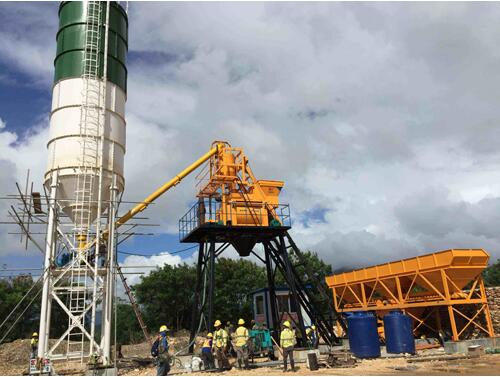 concrete-mixing-plant-under-install-in-Philippines-for-smoot