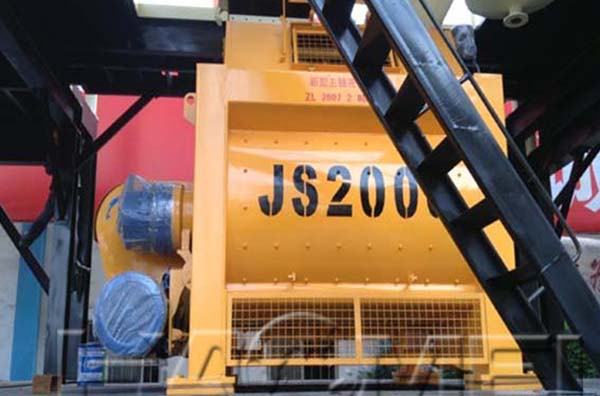 There are some special requirements for the forced concrete mixer