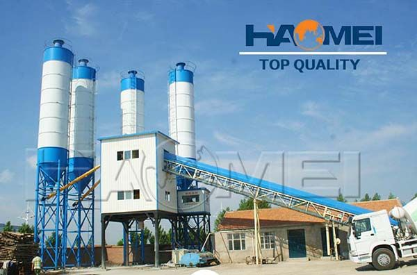 HZS120 Concrete Mixing Plant Required Equipment