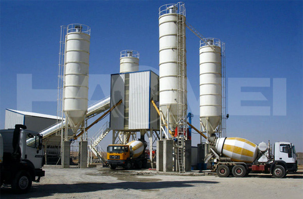 Arrangement Structure and Performance of Engineering Mixing Plant