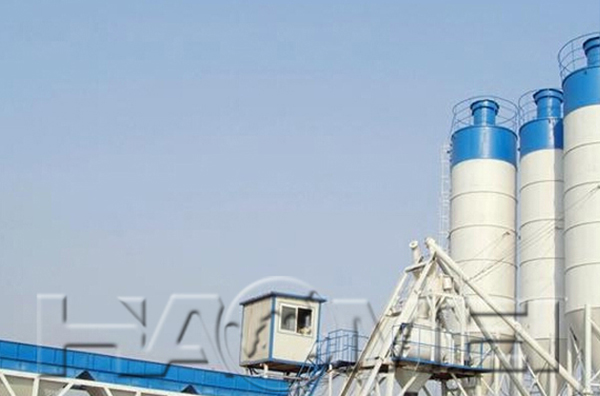 HZS270 ready mixed concrete batching plant