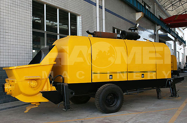 HBT100 trailer concrete pump