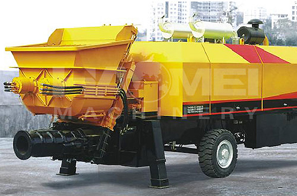 HBT90 trailer concrete pump